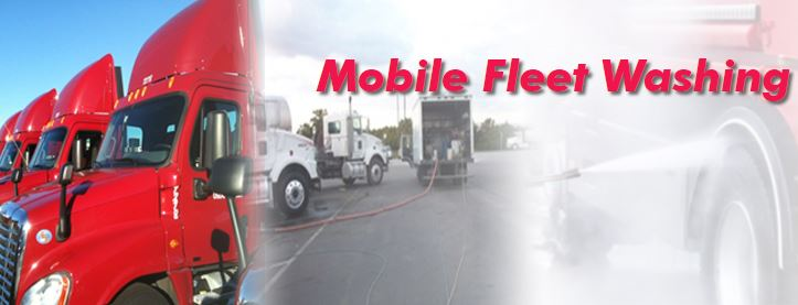 Mobile Fleet Washing Services