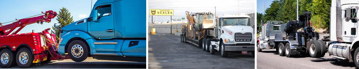 Semi Truck Towing