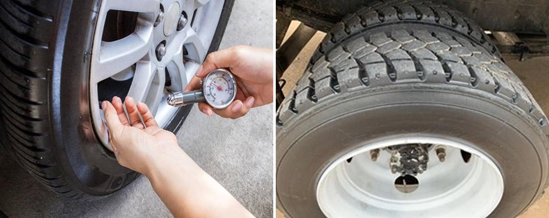 Tire air check